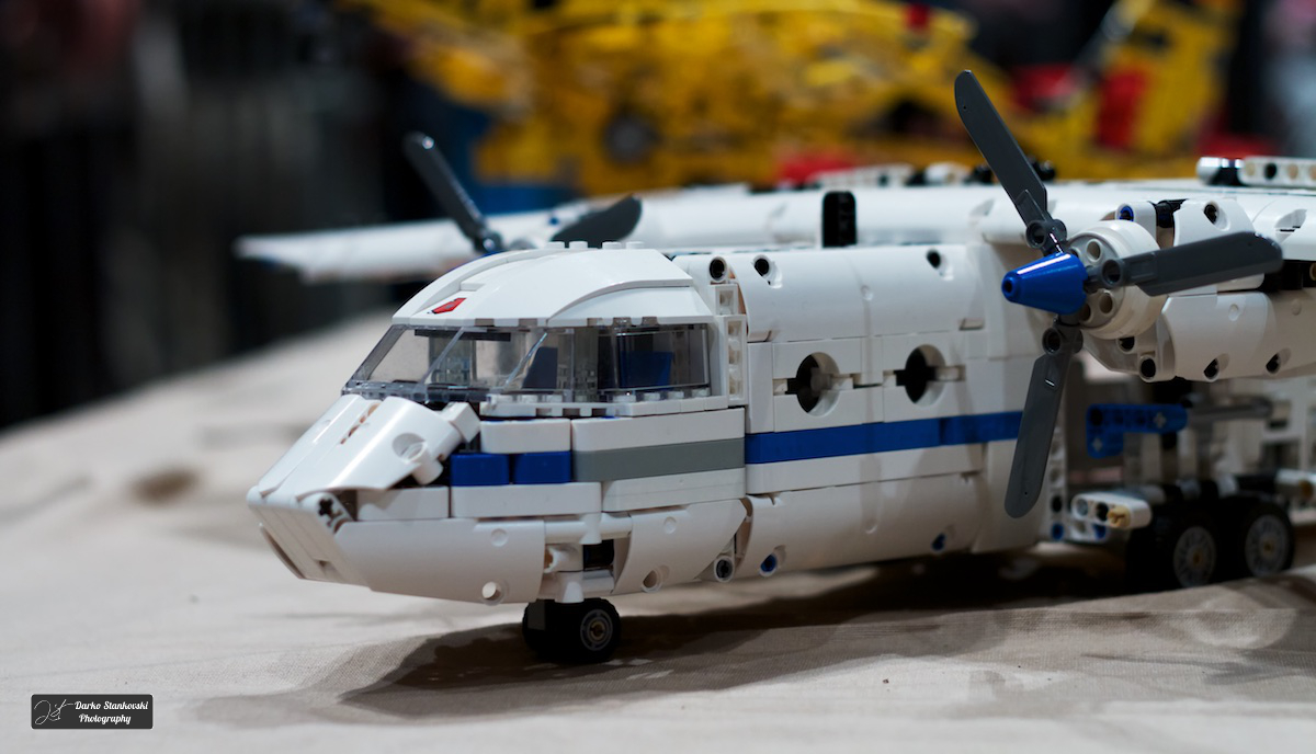 Exposition lego mennecy 2014 dad 3 0 - Avion de chasse en lego ...